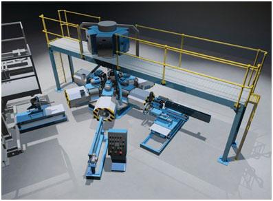 AMH 6 (Carousel) centrifugal casting machine.